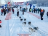 Bailey Schaeffer leaves the start line at Knik during the start of the Junior Iditarod on Saturday February 25, 2017.    Photo by Jeff Schultz/SchultzPhoto.com  (C) 2017  ALL RIGHTS RESVERVED