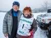 Honorary mushers Stan and Sally Smith at Knik during the start of the Junior Iditarod on Saturday February 25, 2017.    Photo by Jeff Schultz/SchultzPhoto.com  (C) 2017  ALL RIGHTS RESVERVED