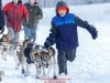 Emma Shawcroft leaves the start line at Knik during the start of the Junior Iditarod on Saturday February 25, 2017.    Photo by Jeff Schultz/SchultzPhoto.com  (C) 2017  ALL RIGHTS RESVERVED