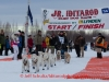 Jimmy Lanier leaves the start line of the 2014 Jr. Iditarod Sled Dog Race from Happy Trails Kennel, Big Lake, Alaska Saturday February 22, 2014   Junior Iditarod Sled Dog Race 2014 PHOTO BY JEFF SCHULTZ/IDITARODPHOTOS.COM  USE ONLY WITH PERMISSION