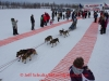 Ashley Guernsey leaves the start line of the 2014 Jr. Iditarod Sled Dog Race from Happy Trails Kennel, Big Lake, Alaska Saturday February 22, 2014   Junior Iditarod Sled Dog Race 2014 PHOTO BY JEFF SCHULTZ/IDITARODPHOTOS.COM  USE ONLY WITH PERMISSION